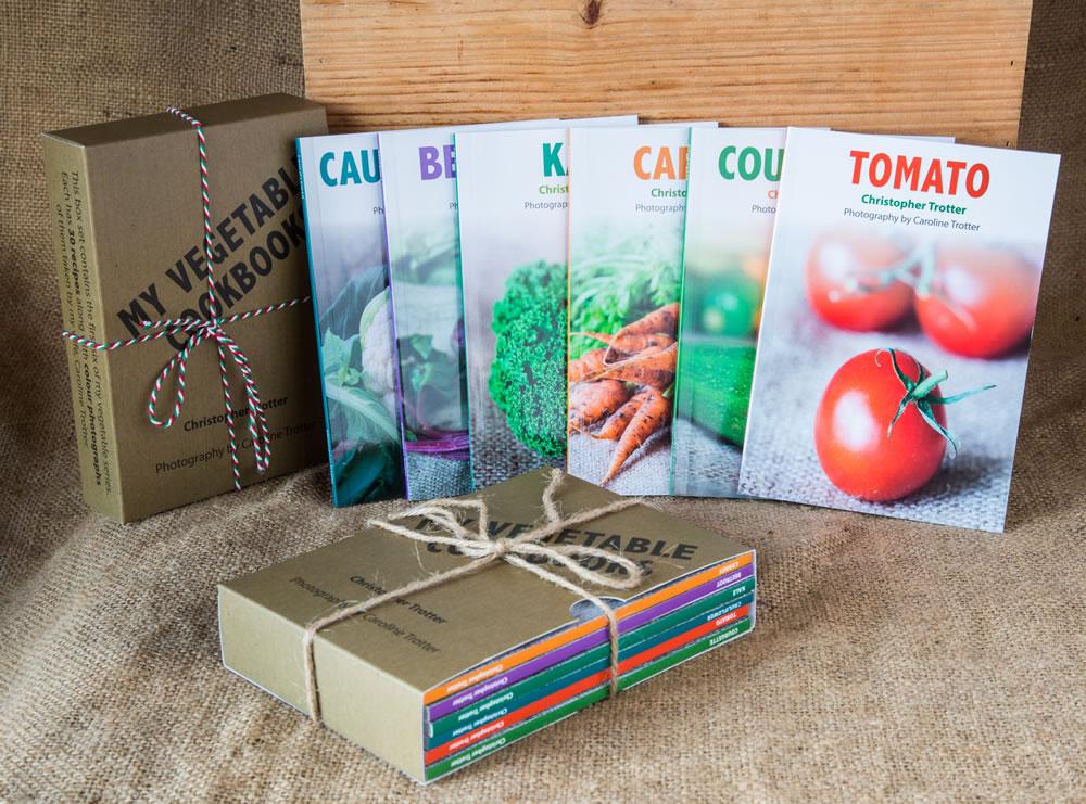 vegatable cookbook bundle