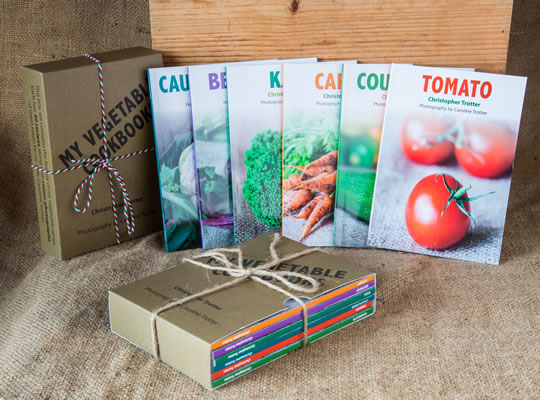 Vegetable recipe book bundle
